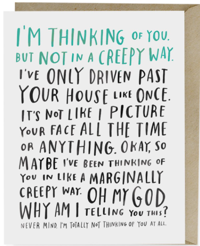 Note Card-I'm Thinking Of You