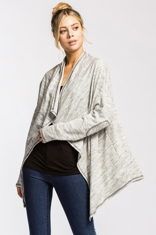Loose Fit Asymmetrical Cardi