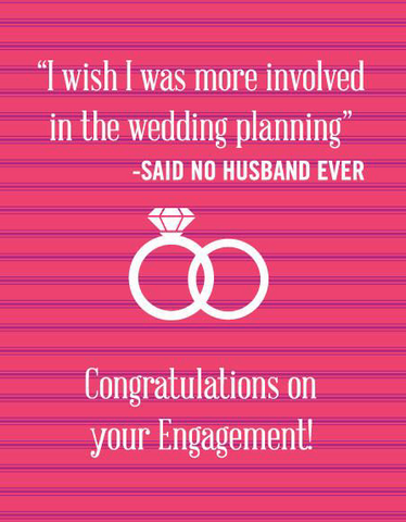 Said No Husband Ever Engagement