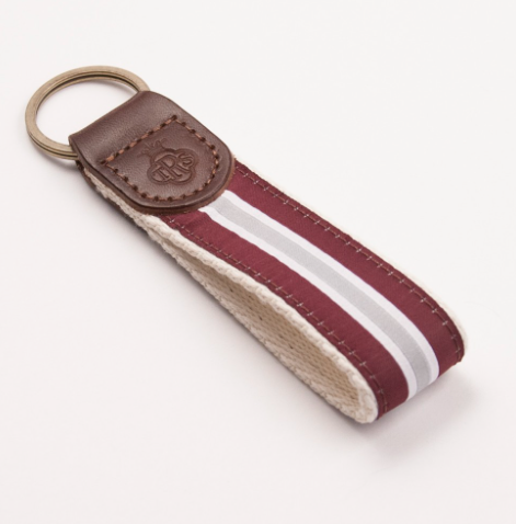 "5"" Preppy Stripe Key Chain-A&M"