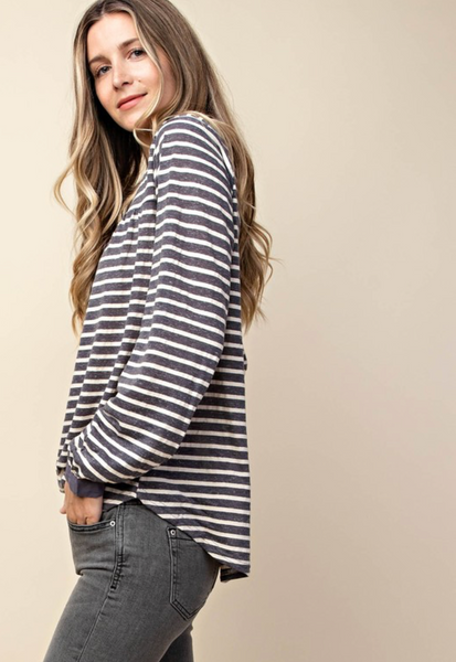 Mix It Up Long Sleeve Top