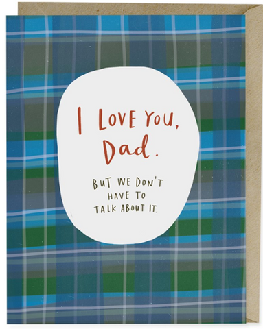 Note Card-I Love You Dad