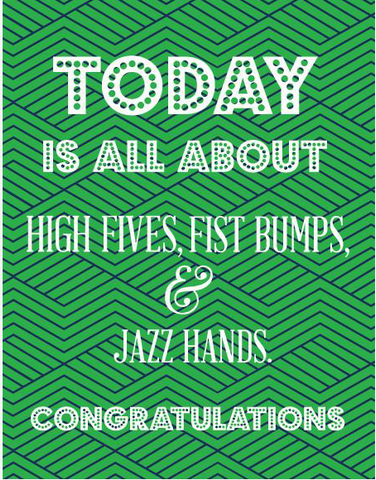 Today High Fives  Card