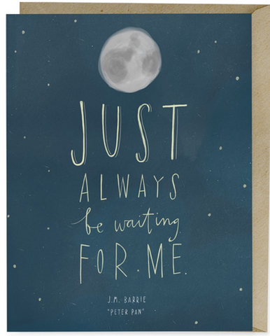 Just Always be Waiting   Card