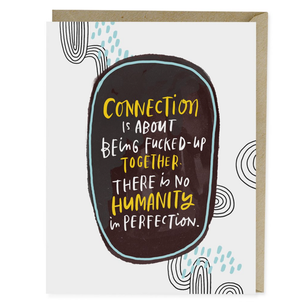 Connection is  Note Card