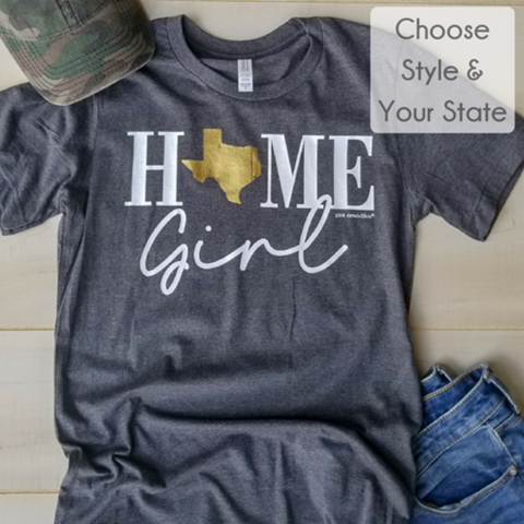 Home Girl Texas Tee