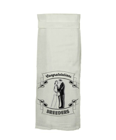 CONGRATULATIONS BREEDERS DISH TOWEL