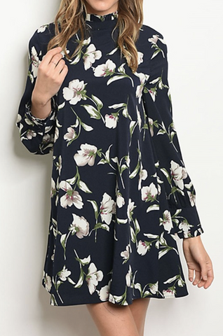 ELECTRIC DAISY RELAXED DRESS