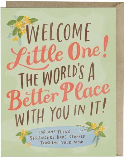 Note cards-Welcome Little One