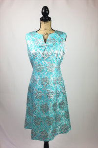 The Haya Brocade Dress - L
