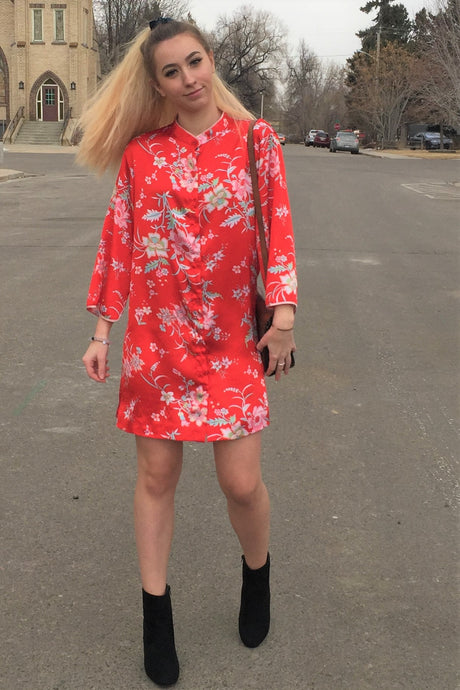 The Cruz Shirt Dress - S/M