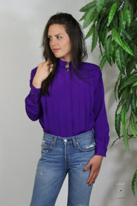 The Violet Top - M