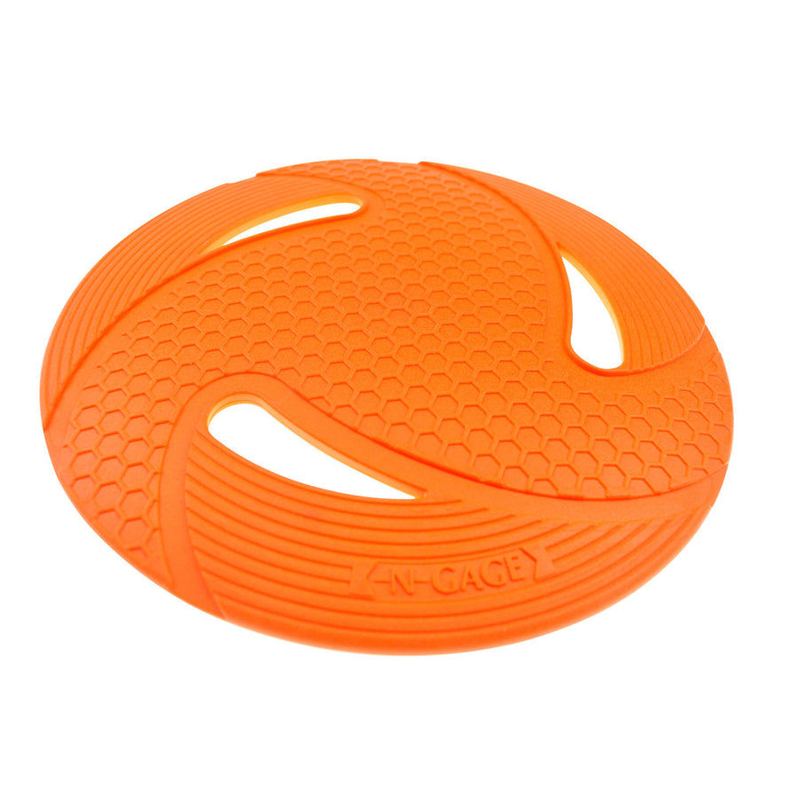 flyer orange disc toy angle 2