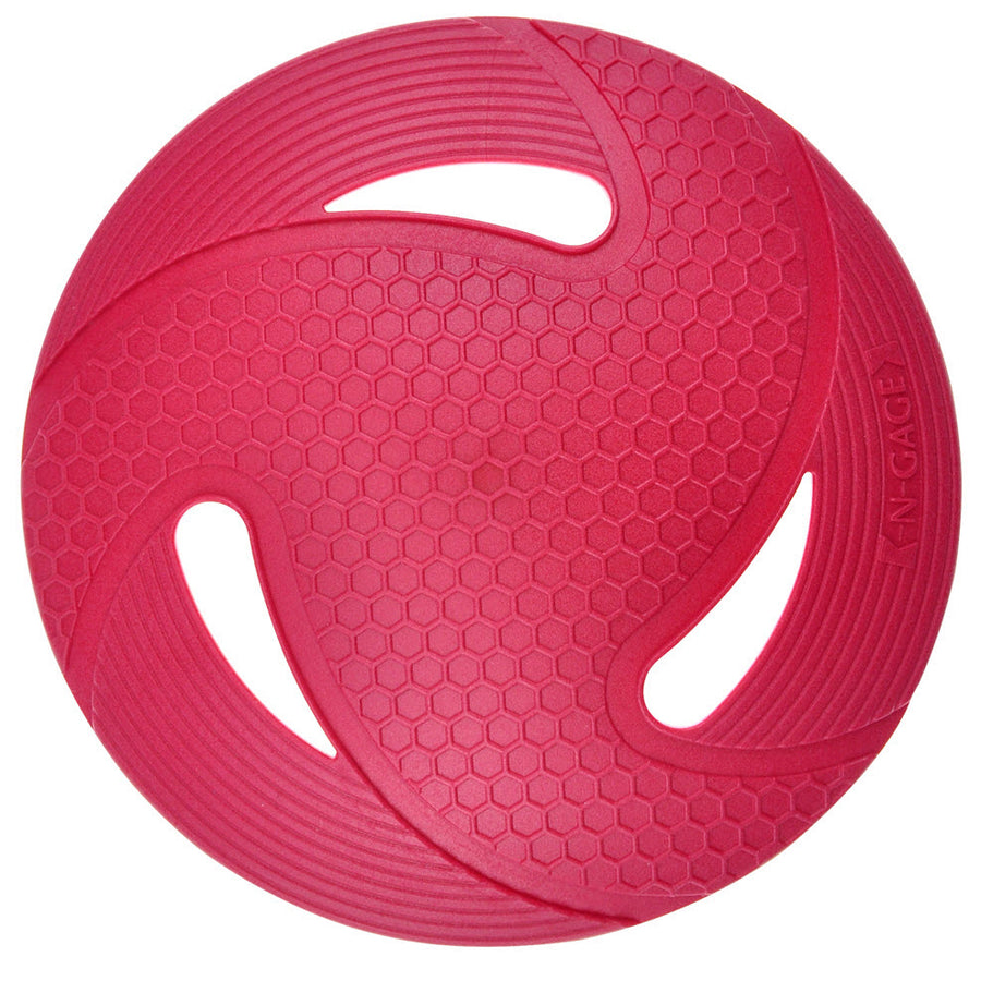 flyer red disc toy