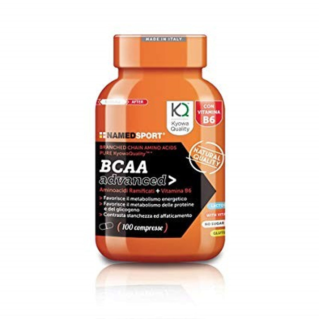 BCAA ADVANCED - 100 cps - Integratore alimentare