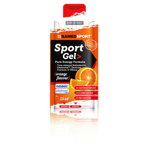 SPORT GEL - ORANGE - 25 ml. - Gel energetico