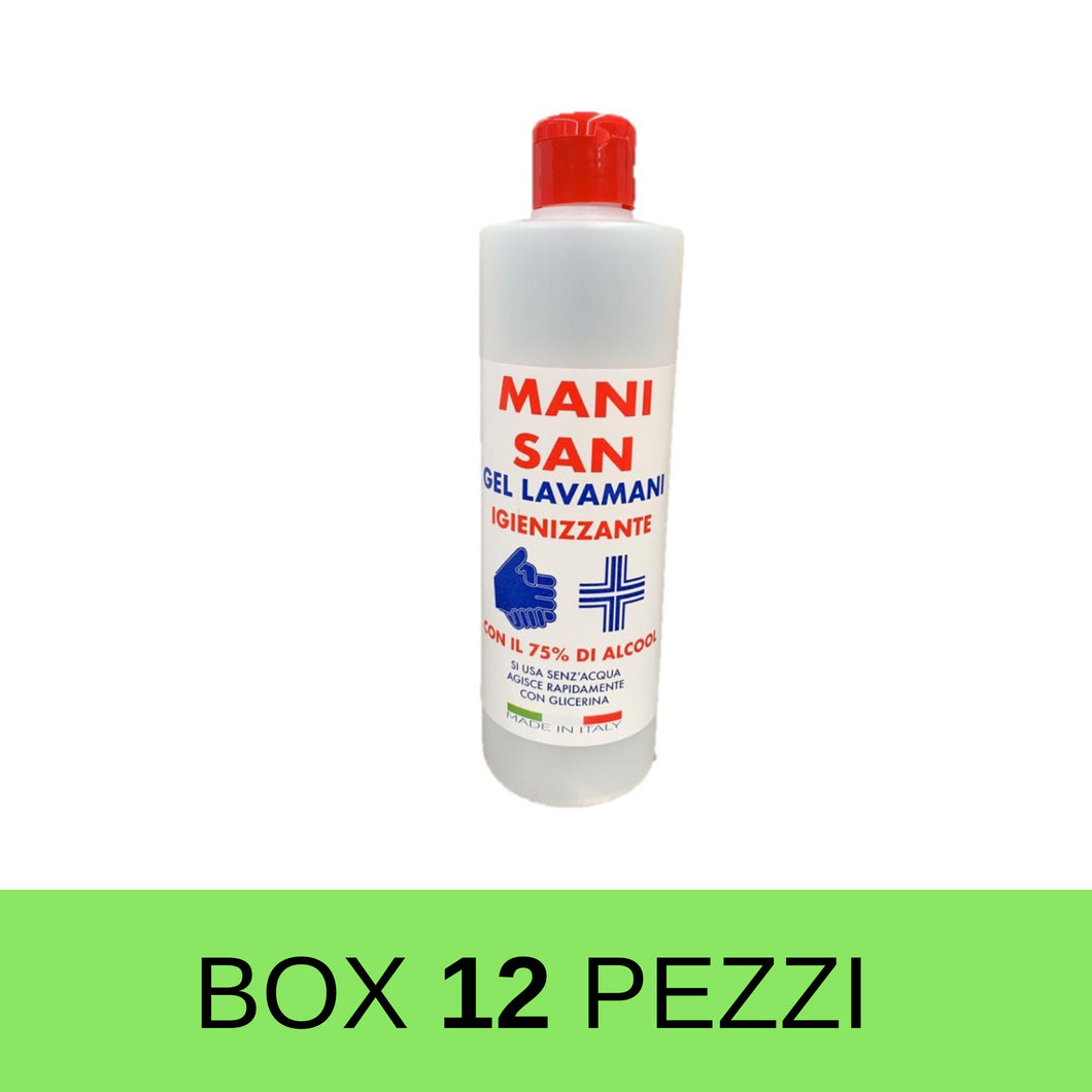 GEL IGIENIZZANTE MANI 500 ML - NATURLIFE