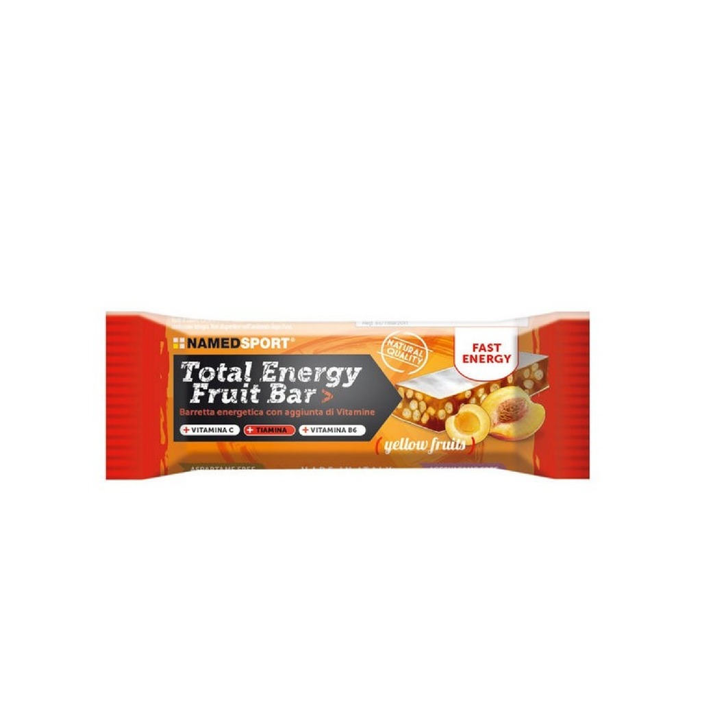 TOTAL ENERGY FRUIT BAR - YELLOW FRUITS- 35 g. - Barrette proteiche