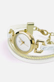 Forever Cady - Gold/White Watch