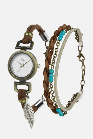 HC Piper Watch & Bracelet Set