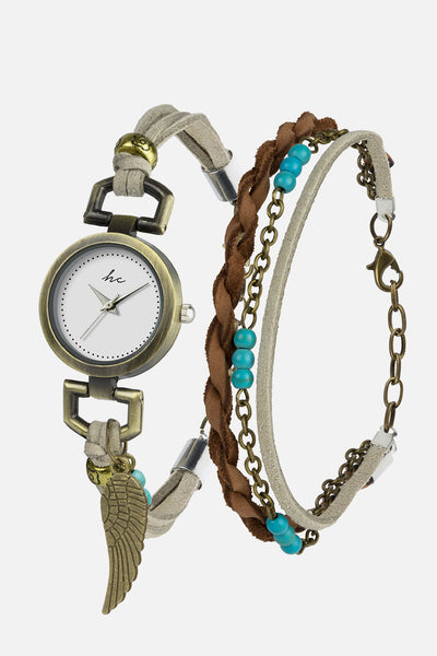 Serene Watch & Bracelet Set