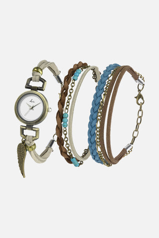 Tamara Watch and Bracelet Duo Set