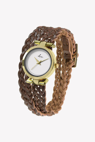 Savannah - Gold/Brown Watch
