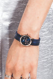 Celeste Constellation Sunray Watch - Navy/Gold