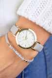Dream Watch & Bracelet Set - Grey