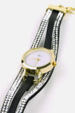 Forever Diamond - Gold/Black Watch