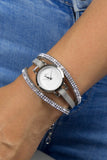 Forever Diamond - Silver/Stone Watch