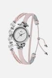 Painted Rosé - Silver/Nude Pink Watch