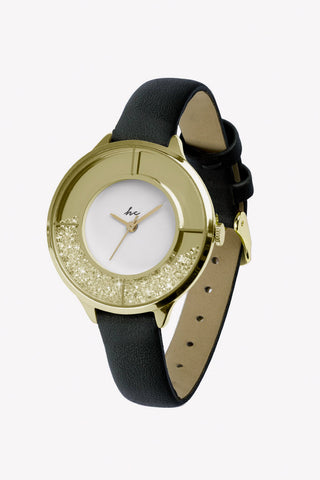Sparkle Gold/Black Watch