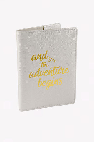 Passport Case - Pearl