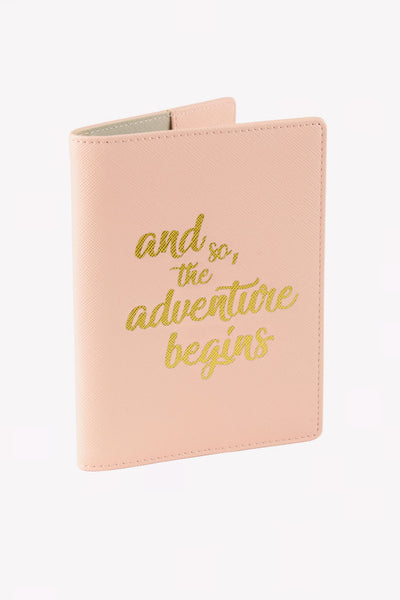 Passport Case - Pink