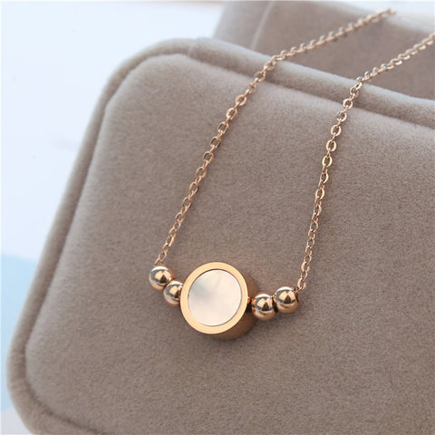 Shell Round Necklace