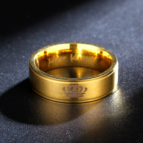 Golden Couple Ring