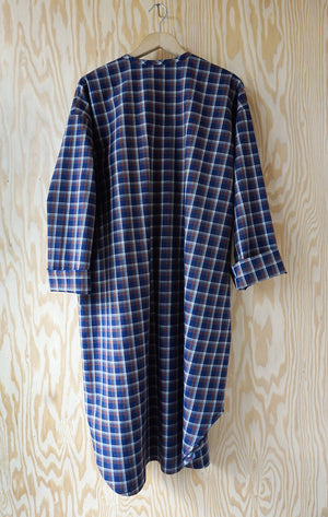 Ebeneezer Nightshirt - Ranger Lake Plaid Earth Brushed Cotton