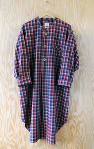 Ebeneezer Nightshirt - Ranger Lake Plaid Rust