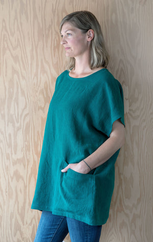 Evelyn Tunic - Pine Linen