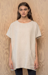 Evelyn Tunic - Natural Linen