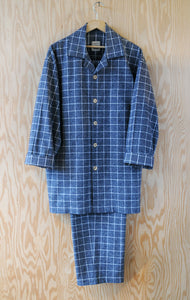 Men's Pajama Set - Window Pane Large Check