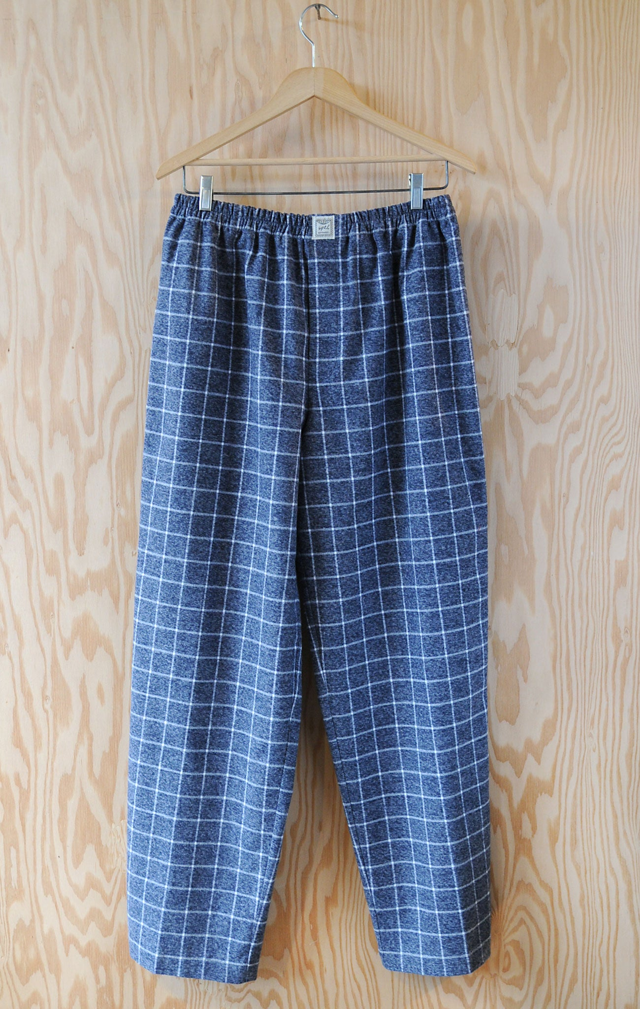 Men's Pajama Set - Window Pane Large Check Flannel