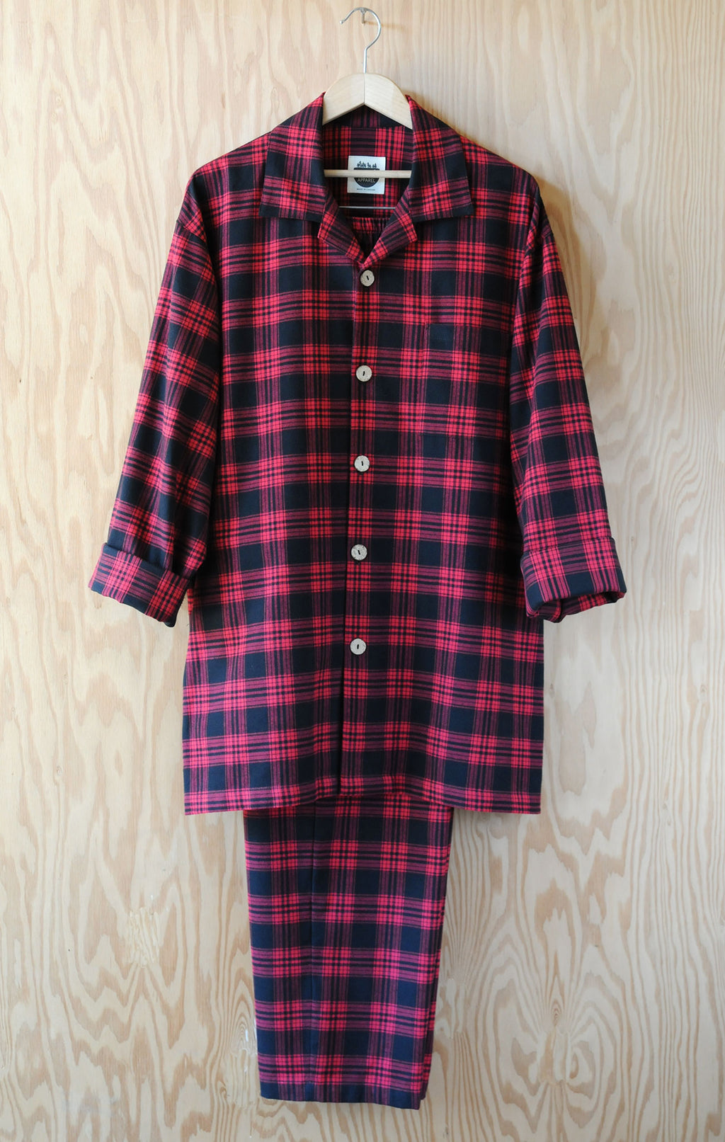 Men's Pajama Set - Heritage Plaid Red Flannel