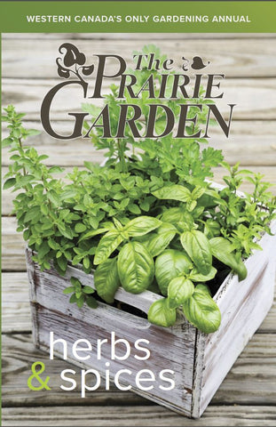 the prairie garden herbs and spices, 2017 prairie garden book, garden book