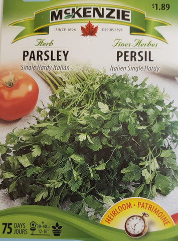 Herb Parsley Single Italian