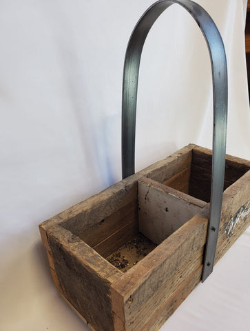 Barnwood Double Rectangle Container