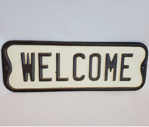 Welcome Sign 17x6