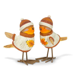 Harvest Birds - set of 2