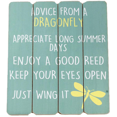 Advice From Dragonfly Sign